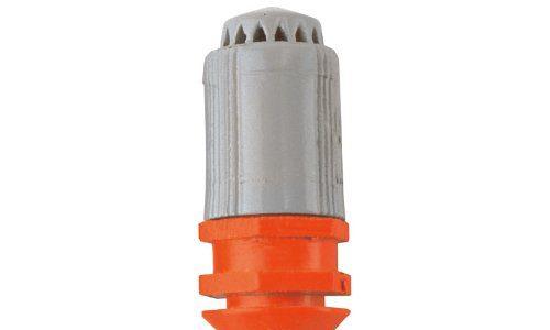 GARDENA Micro-Drip-System Sprühdüse 360°: Rundum-360°-Sprühkopf, regulierbare Beregnung, flächendeckend, Sprühreichweite ca. 3 m, 5 Stück 1365-20