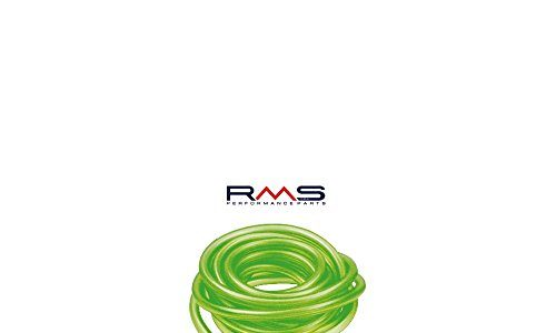 1Meter Fuel Hose/Cable RMS Green Transparent 7×12mm for Vespa