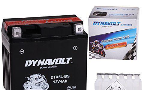 MKS – Jonway – Mawi – Jmstar – Longjia – Karcher – MBK – Malaguti – Kymco – Keeway – Motofino – Longbo – Wartungsfreie 12V Roller Batterie YTX5L-BS / DTX5L-BS incl.7,50 Pfand JinIun