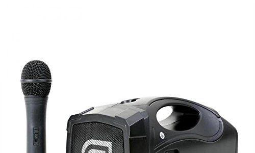 Skytec 178869–st-010MEGAFONO Wireless mit Micro und Akku