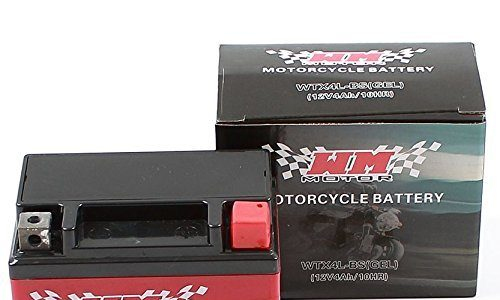 BATTERIE YTX4L-BS GEL MOTORRAD MOTOROLLER QUAD WTX4L-BS