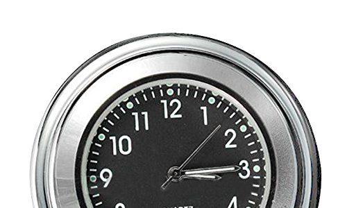 Motorrad Lenkerhalter – SODIAL R 7/ 8″ 1″ Universal Motorrad Fahrrad Lenkerhalter Zifferblatt Uhr Wasserdicht