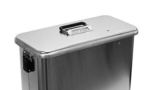 Motorradkiste Transportbox Motorradbox 32 L – C32 Motorradkoffer Kiste Gepäck Koffer Gepäckträger Aluminiumkiste Vollaluminiumbox