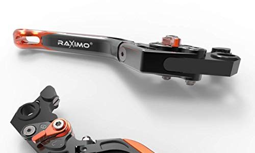 RAXIMO BCF Bremshebel Kupplungshebel Set lang mit ABE passend für KTM Duke 790 2018-2019