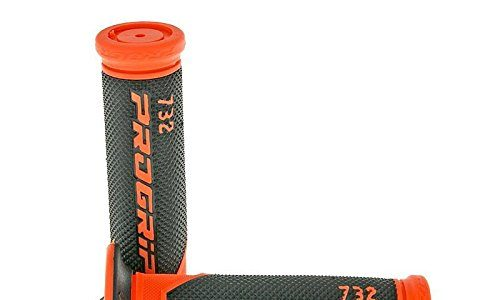 schwarz/orange Ø 22mm – Lenkergriffe/Griffgummi PROGRIP 732 Road