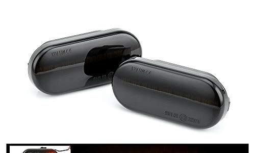 SYWAN Auto Seitenmarkierung Blinker Licht Dynamisch fließende LED-Anzeige Ersatzteil für T5