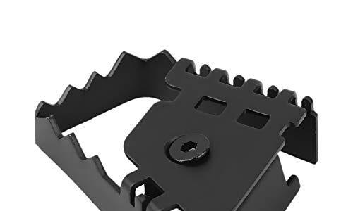 Vobor Bremspedalverlängerung-Motorrad Fußbremspedal hinten Vergrößern Extension Pad Extender für BMW F800GS F700GS R1150GS R1200GS Farbe : Black