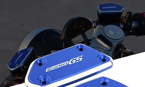 Motorrad Vorderer Bremsflüssigkeitsdeckel Bremskupplungs-Ölbehälter Fluid Cap Abdeckung CNC Passend für B-M-W R1250GS R1250 GS
