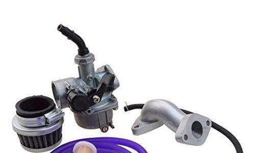 Goofit 19mm Racing Hand Kabel Vergaser Luftfilter Montage Carb Einlass Choke Rohrdichtung Kraftstoffschlauch SUNL Linie 50cc 70-110 125cc ATV Dirt Taotao violett