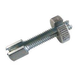 f. Lenkerarmaturen Bowdenzüge  – M6x30 – Gesamtlänge 40 mm – Stellschraube lang mit Rändelmutter – geschlitzt