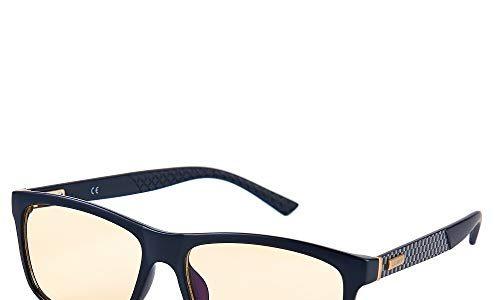 Unisex – UVA- und UVB-Schutz – Verbesserte Verkehrssicherheit – Allwetterbrille für Regen-, Nebel- und Nachtfahrten – Reduzierte Augenbelastung und Kopfschmerzen – Lumin Night Driving Brille SHIFT