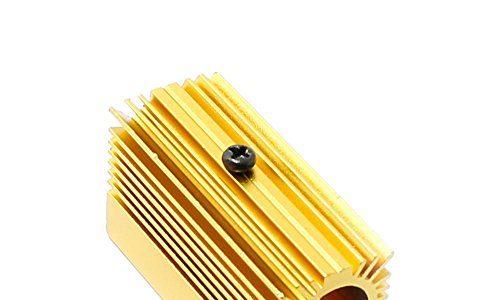 Q-Baihe Aluminium-Kühler / Kühlkörper, 20x 27x 50mm für 12-mm-Laser-Module, golden
