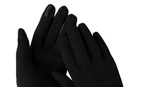 Hawiton Damenhandschuhe Touchscreen Handschuhe Winterhandschuhe Fahrradschuhe Frauen Handschuhe Winter Warm Handschuhe mit Fleecefutter