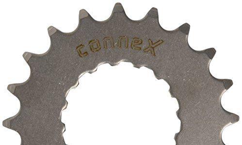 Connex E-Bike Ritzel für Bosch Antrieb 20 Zähne Kettenblätter, Silber, One Size