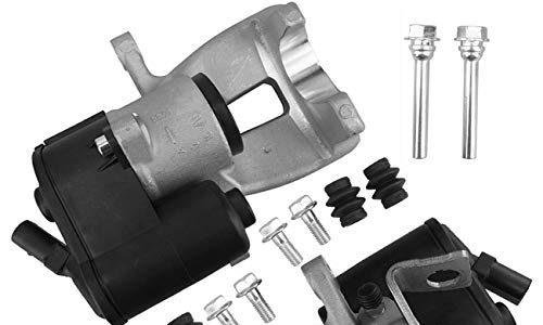Bapmic 3C0615403 3C0615404 Bremssattel Hinten Satz links+rechts mit Stellmotor+Schrauben