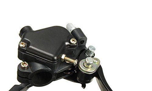 mfpower Daumen Gaszug Twin vorne Hand Bremshebel für Mini Moto Quad Pit Dirt Bike ATV links oder rechts Seite