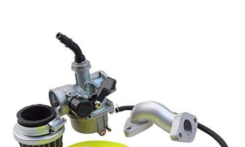 Goofit 19mm Racing Hand Kabel Vergaser Luftfilter Montage Carb Einlass Choke Rohrdichtung Kraftstoffschlauch SUNL Linie 50cc 70-110 125cc ATV Dirt Taotao gelb