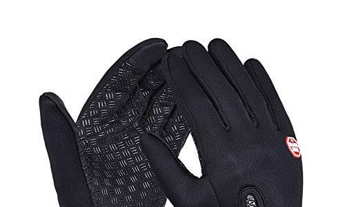 Yizhet Touchscreen Handschuhe Winddicht Sport Handschuhe Fahrradhandschuhe Handy Handschuhe Motorrad Handschuhe Outdoor Laufhandschuhe Skifahren Radfahren Camping Fahren Unisex M