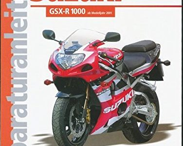 Suzuki GSX-R 1000 Reparaturanleitungen