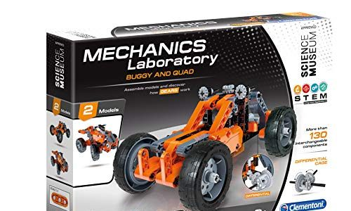 Clementoni 61287 Mechanik Lab Buggy und Quad Scientific Kit