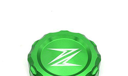 Z300 Z650 Z900 Z800 Z750 Z1000 Motorrad Bremse Hintere Bremsflüssigkeitsbehälter Kappe Für Kawasaki Z300 2016 Z650 2017 2018 Z900 2017 2018 Z800 2013-2017 Z750 R 2006-2010 Z1000 2007-2016 – Grün