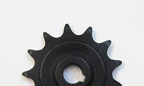 Unite Motor 1016Z 1018 13 Zahnstangengetriebemotor für gewöhnliches Fahrrad Kettenrad 13 Zähne Kettenrad
