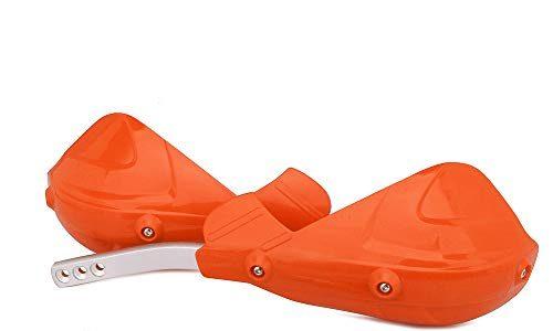 Motorrad Handschutz Handprotektoren HandGuards ATV Motorrad Handschützer 7/8″22mm oder 1-1/8 28mm für EXC EXCF SX SXF MX MX XC XC XCF XCFW EGS LC – Orange