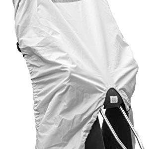 reflektierende Streifen – Rubberneck Regenschutz Abdeckung für Fahrradkindersitz – reißfest