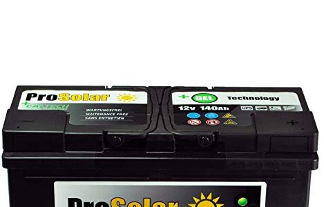 GELBatterie 140Ah Solarbatterie Versorgungsbatterie Verbraucherbatterie 12V