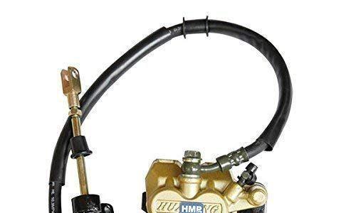 HMParts Motocross/Dirt Bike 49-125 4 Takt Bremsen Kit h