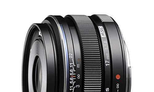 Olympus F1.8 Wechselobjektiv für Olympus/Panasonic-Mikrokameras 17 mm, 17mm, schwarz, None