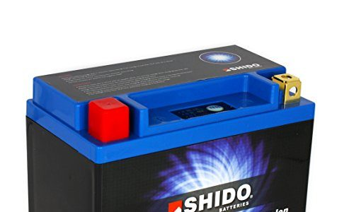 Motorrad Batterie Shido Lithium LTX9-BS/YTX9-BS, 12V/8AH Maße: 150x87x105