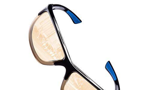 Reduzierte Augenbelastung und Kopfschmerzen – UVA- und UVB-Schutz – Unisex – Allwetterbrille für Regen-, Nebel- und Nachtfahrten – Lumin Night Driving Brille VECTOR – Verbesserte Verkehrssicherheit