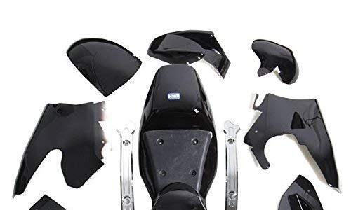 HMParts Pocket Bike Verkleidung Set komplett schwarz