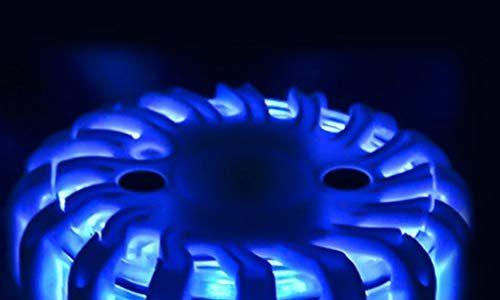 Warnleuchten LED Warnlicht Rundumleuchte Magnetmontage Blinkleuchte für Straßenverkehr Blau