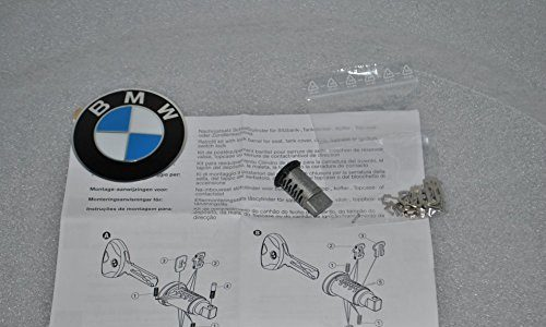 Original BMW Codierbares Schloß Schließzylinder Koffer Topcase 51257698202 R1200 R900 K1200 F750 F850 F650 Gratis BMW Einkaufschip