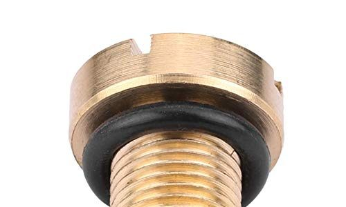 Kühlmittel Ausgleichsbehälter Entlüftungsschraube Ablassschraube Kühler Ausgleichsbehälter und Gummi-O-Ring aus massivem Billet Messing für E30 E36 E31 E34 E46 E39 E38