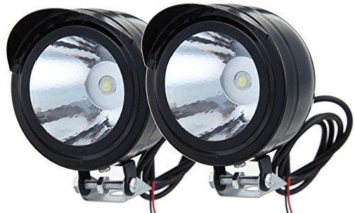 LEAGUE&CO Motorrad Fahrrad SUV ATV LKW 12V 80V 3W LED Scheinwerfer Fernlicht Nebellicht Tagfahrlicht 2