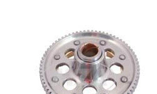 71/23 Zähne – M743 – geradeverzahnt, erleichtert, verstärkt, zusätzliche Schmiernut – für leistungsstarke Simson-Motoren – RESO Kupplungszahnrad + Antriebsritzel SET- Sport – M531