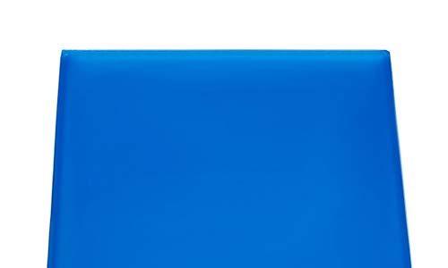 KKmoon Gelmatten für bequemen Motorradsitz 25 cm 48 x 35 x 1 cm Blau