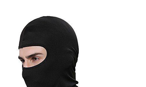 iTimo Winddicht Ski Maske, verstellbar Face Kopf Wärmer für Skifahren Bike Radfahren Wandern Motorrad Outdoor Sports Schwarz