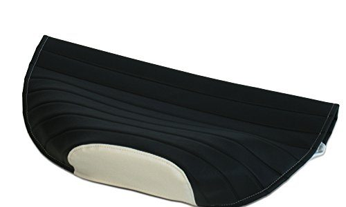 AKF Sitzbezug strukturiert, schwarz/weiß ohne Logo – für Simson S53, S83, SR50, SR80