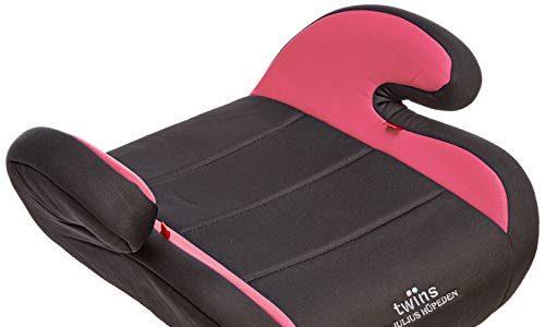 Twins Autositzerhöhung, Gruppe 2/3, ab 3,5 bis 12 Jahre, pink
