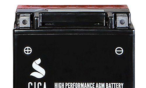 Motorrad Batterie YTX20A-BS AGM Gel 20AH 12V 290A/EN YTX20CH-BS Motorradbatterie