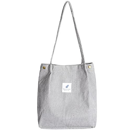 Top 10 Cord Tasche Reißverschluss – Damen-Shopper