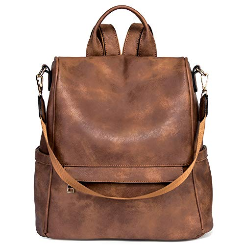 Top 10 Rucksack diebstahlsicher Damen Leder – Damen-Rucksackhandtaschen