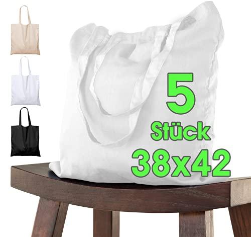 Top 10 Jutebeutel weiß Set – Einkaufstaschen
