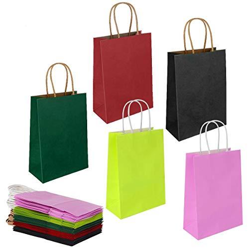 Top 9 Papiertueten mit Henkel – Einkaufstaschen