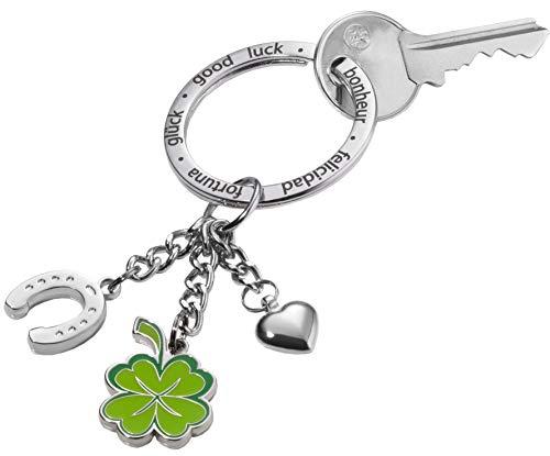 Top 10 Glücksbringer Schlüsselanhänger Kleeblatt – Schlüsselanhänger