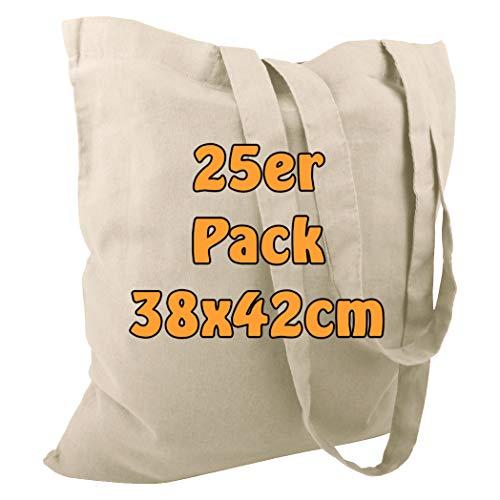Top 10 Baumwolltasche Jutebeutel unbedruckt – Einkaufstaschen